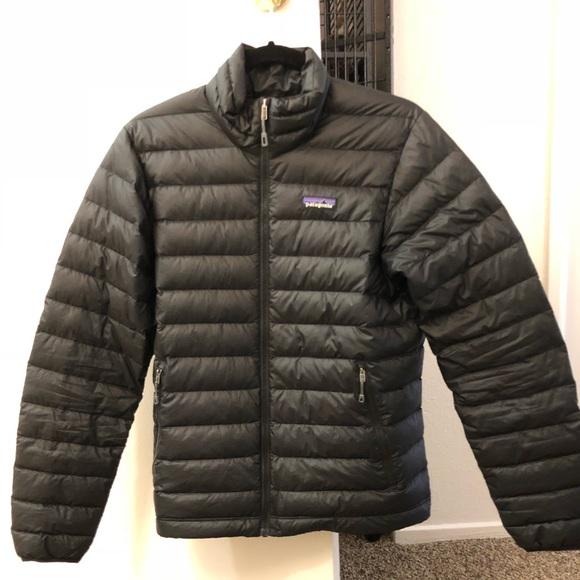 957d17c95 Men's XS Black Patagonia Down Jacket